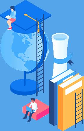 books-and-globe